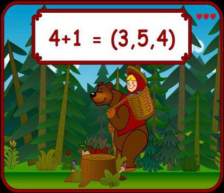 Онлайн игра «Маша и медведь»
